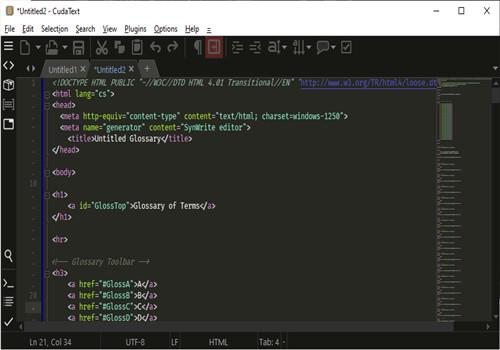 CudaText代码文本编辑器下载
