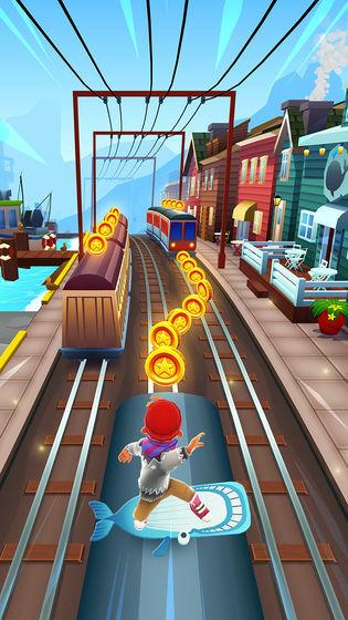 地铁跑酷游戏下载安装手机